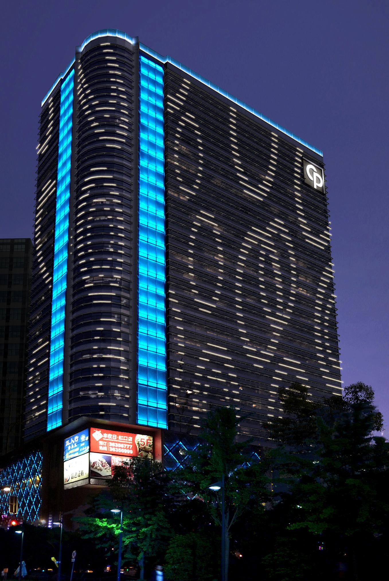 盛邦国际大厦景观灯光设计